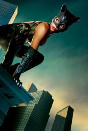 Catwoman Halle Berry Movie poster Metal Sign Wall Art 8in x 12in