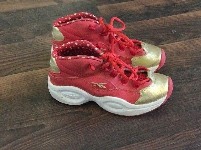 Allen Iverson Reebox kids sneakers
