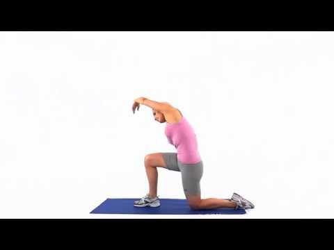 Femoral nerve glide floss 2 - YouTube