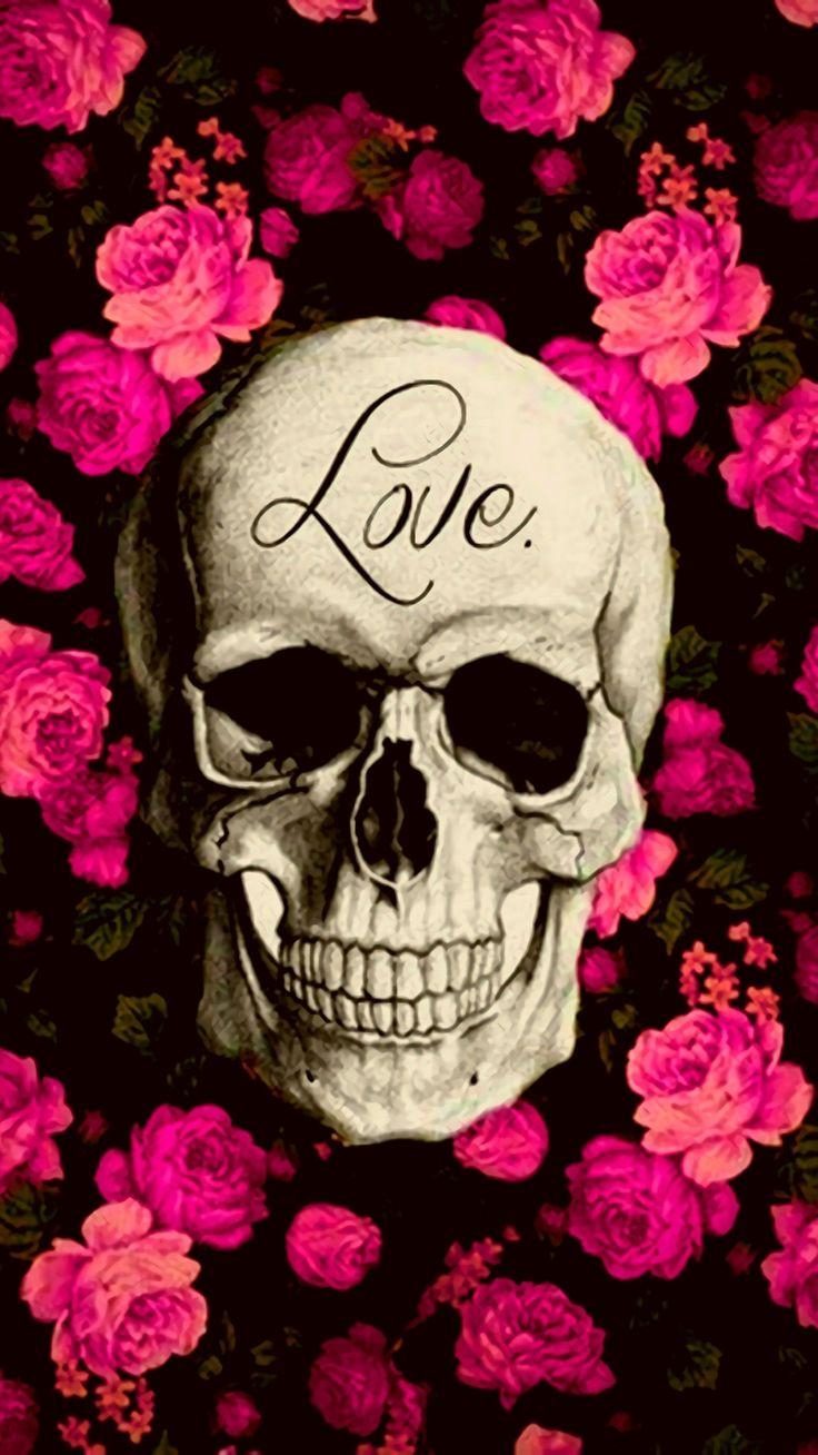 Pin by Keren Mundy on Skulls and Roses in 2020 Skull
