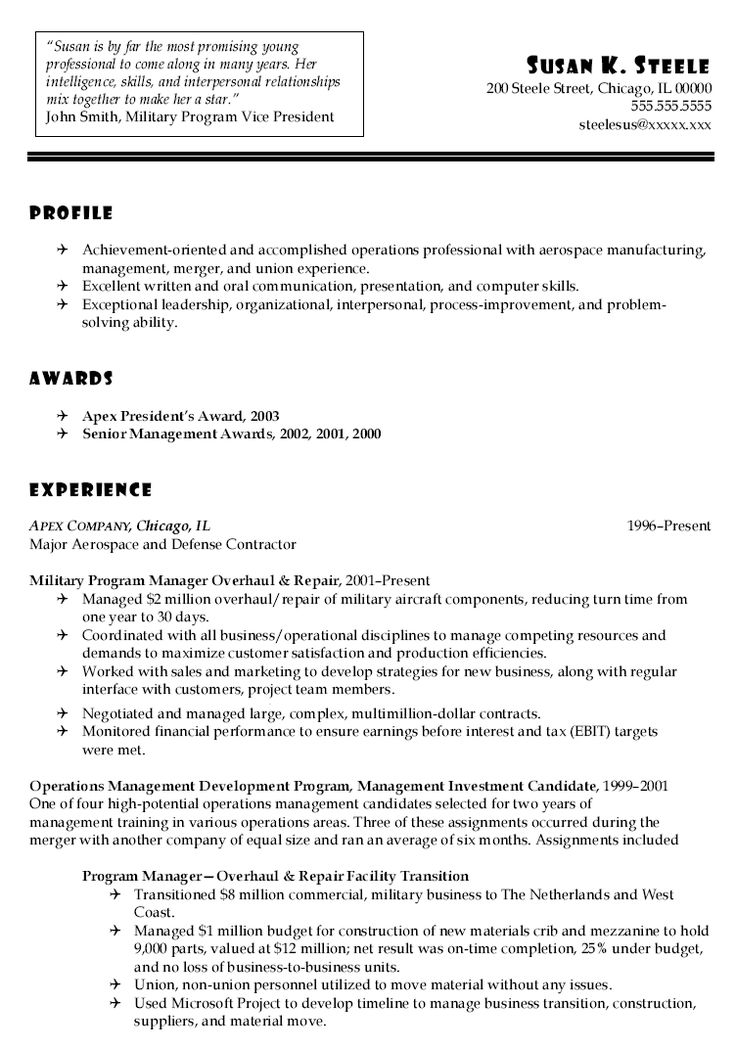 Army Military Resume Sales Lewesmr Strong Examples