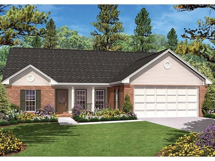 ePlans Ranch House Plan Spacious Traditional Ranch 1400