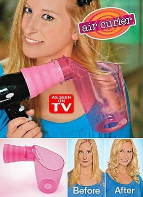Air Curler Hair Curler As Seen on TV  Dry & Curl in One Step!  FREE Shipping  NEW In Original Retail Box
