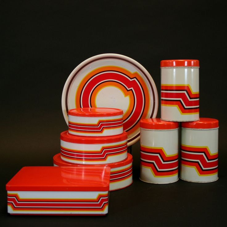 Brabantia tins from the 70's