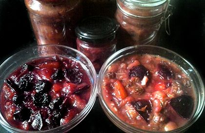 Fűszeres szilva chutney variációk