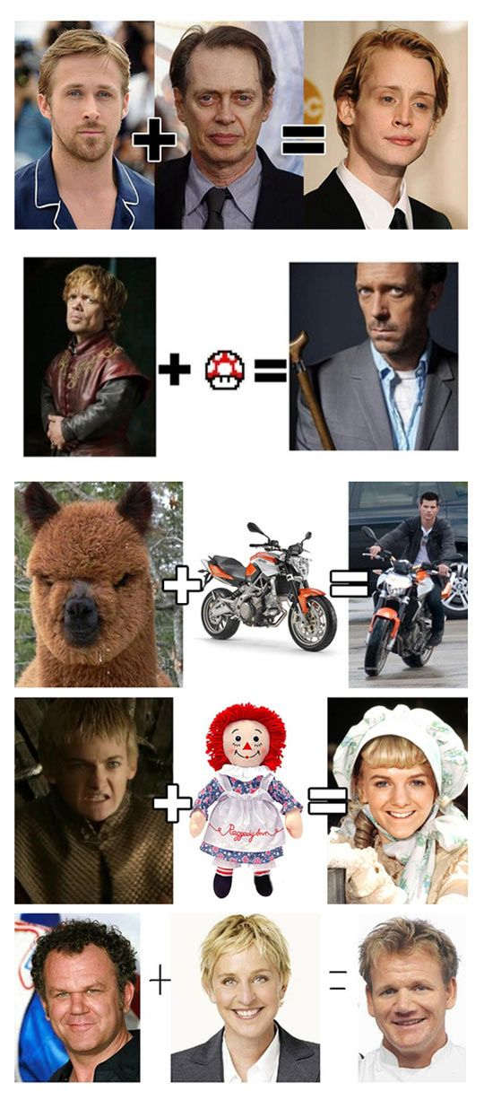 Celebrity math. scarey accurate!