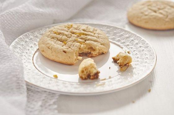 Песочное творожно-лимонное печенье