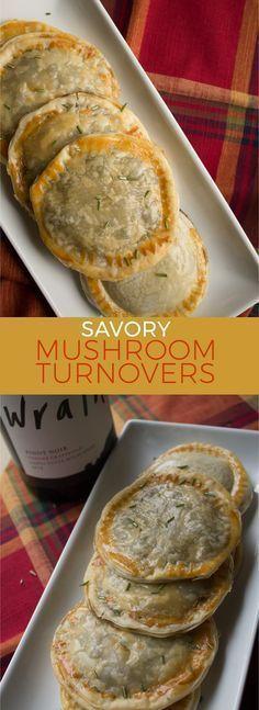 Mushroom turnovers