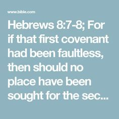 """oops, so much for """"the law of the lord is perfect."""" Hebrews 8:7 New International Version (NIV)  7 For if there had been nothing wrong with that first covenant, no place would have been sought for another. old covenant vs new covenant"""
