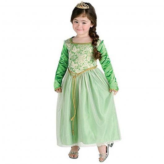 Маскарадный костюм принцессы фиона