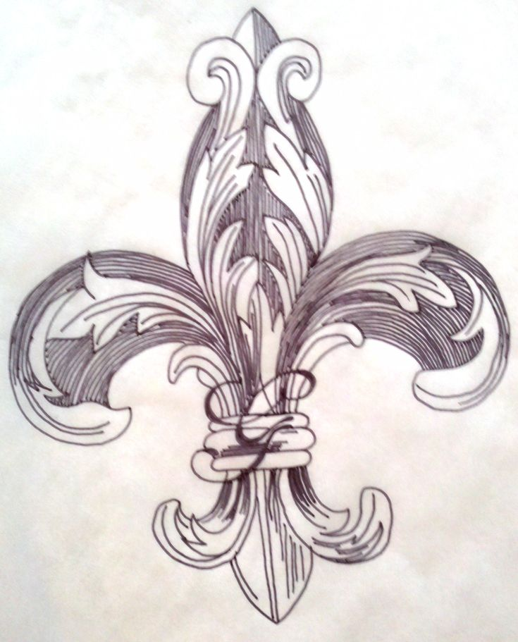 1000+ images about Our fleur de lis tattoos on Pinterest  Louis xvi, Designs for dresses and ...