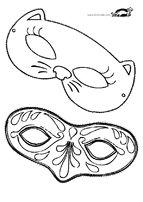 Karnevalové masky a klobouky |  krokotak