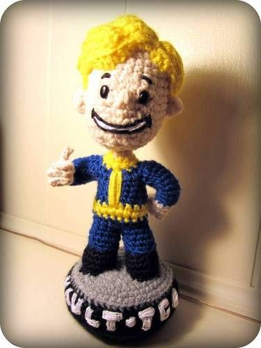hubby loves fallout- this is totally out of my crafting skill set- totally want it anyway!  :)