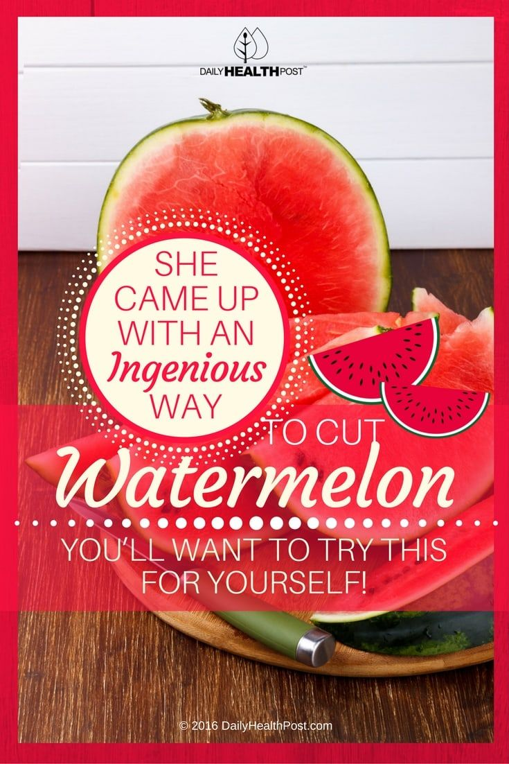 There are no right or wrong ways�to cut a watermelon.