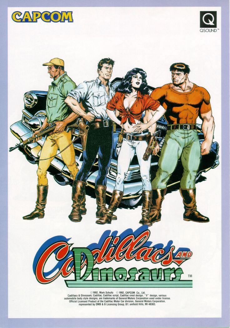 Cadillacs and Dinosaurs Jogo (PC) Emulador - Link Corrigido (1993) - Jogos Antigos, Games Antigos, Jogos Antigos Download: Arcade