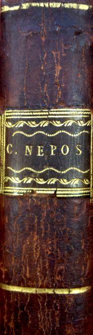 NEPOS, Cornelius. Cornelii Nepotis Excellentium Imperatorum Vitae. Glasguae : excudebat Andreas Foulis, 1777.