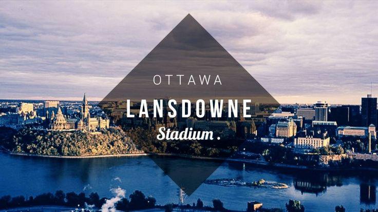 Le TD Place à Ottawa