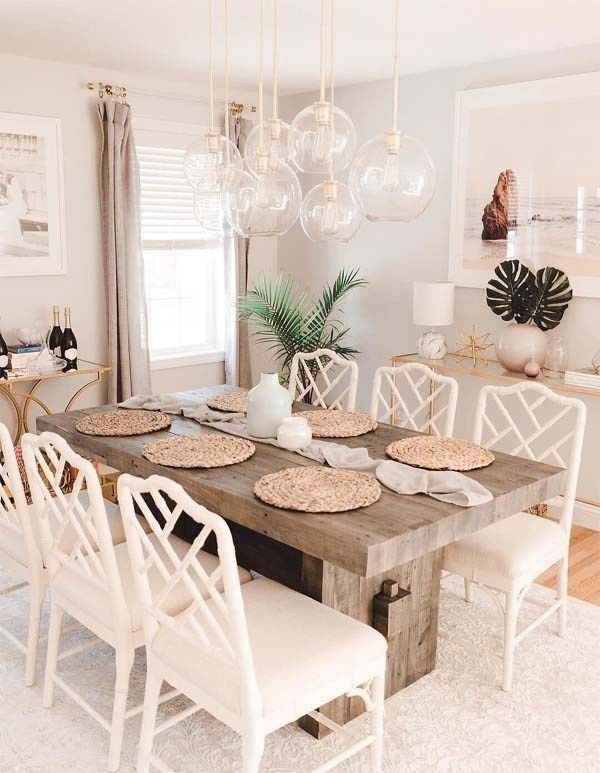 Amazing Dining Room Decor Ideas You Must See In 2019 Voguetypes Wood Dining Room Table Wood Dining Table Decor Dining Room Table Decor