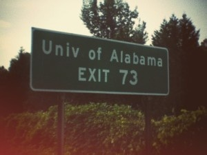 My favorite exit in the state of Alabama!