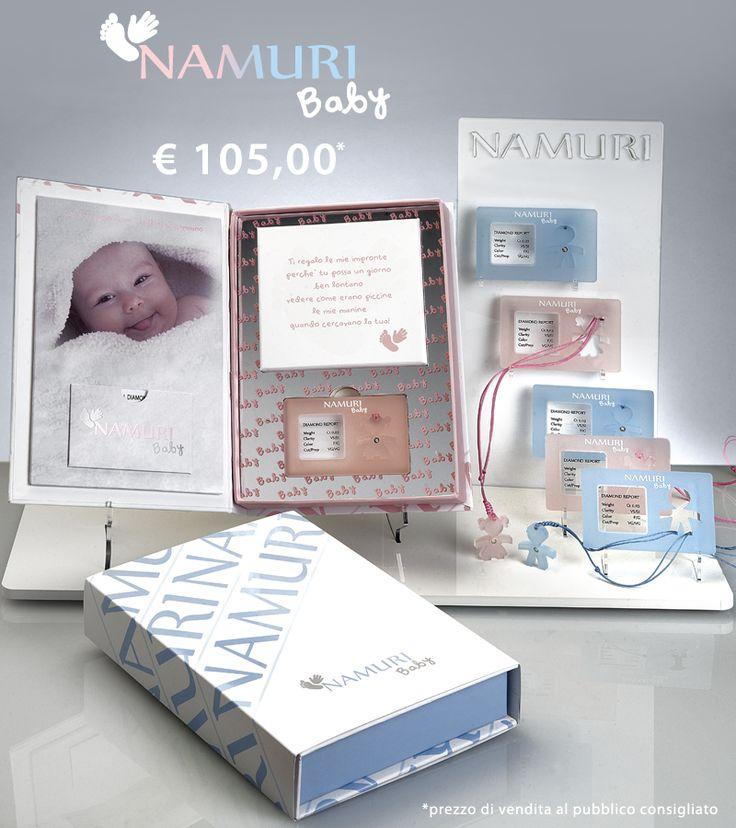 Un diamante custodito in blister per festeggiare la nascita di una nuova vita.   Cofanetto Namuri Baby è una nuova campagna di ITC PORTALE: https://itcportale.it/items/cofanetto-namuri-baby-2/  #itcportale