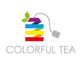 Logo Design - Colorful tea