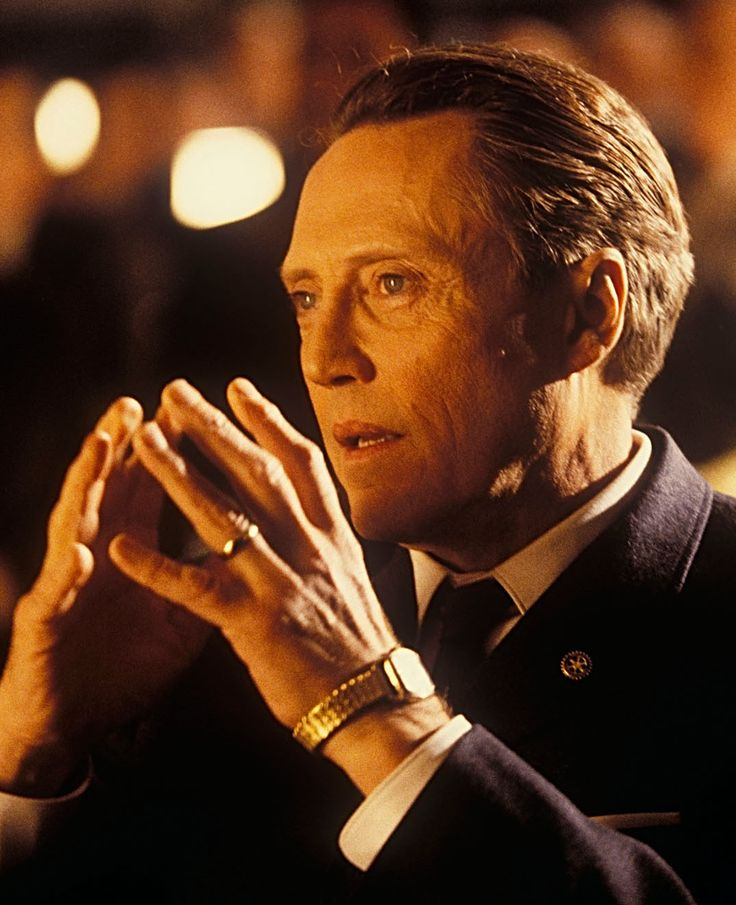 """Christopher Walken en """"Atrápame si Puedes"""" (Catch me if you can), 2002"""