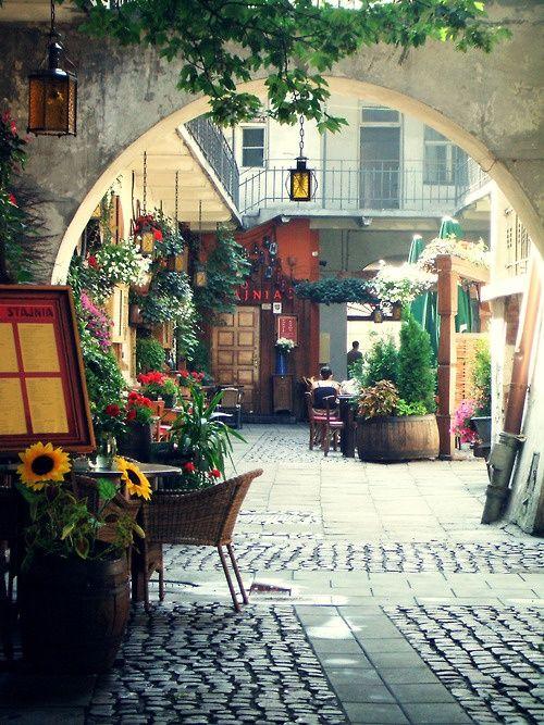 Outdoor Restaurant - Krakow, Poland