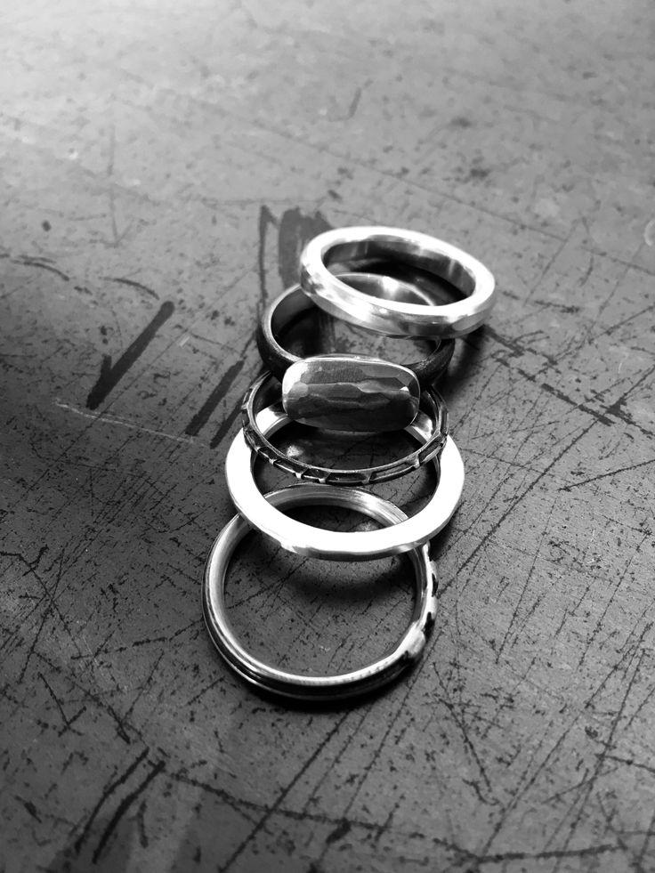 WERKSTATT:MÜNCHEN | 5 Combination Antique Ring www.fallow.com.au