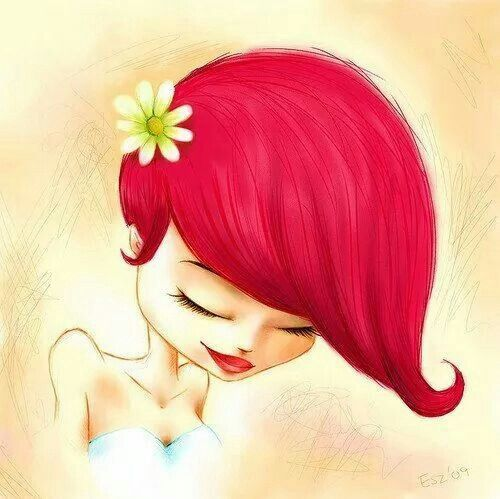 facebook massage rood haar