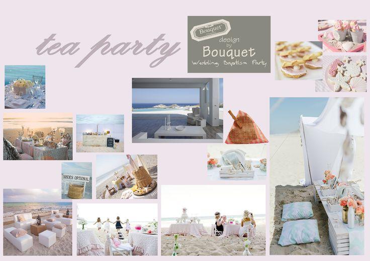 Tea party on the beach inspiration