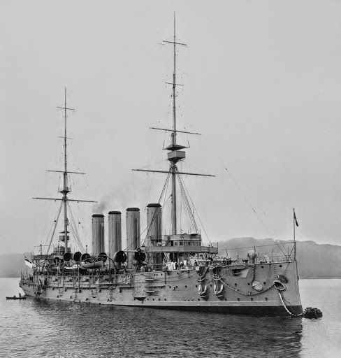HMS Niobe was a ship of the Diadem-class of protected cruiser in the Royal Navy. She served in the Boer War and was then given to Canada as the second ship of the then newly created Royal Canadian Navy as HMCS Niobe.