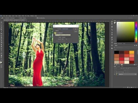 Урок по Photoshop CC. Как удалить объект с фотографии?