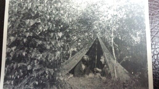 Soldiers in a tent