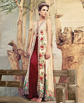 D4517 Latest Party Embroidered Outfits 2013 Tena Durrani Edison NJ, Pakistani Embroidered Suits Edison NJ New Arrivals