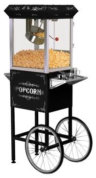 Black Popcorn Maker Machine Elite By Maxi-Matic - contemporary - cookware and bakeware - Amazon