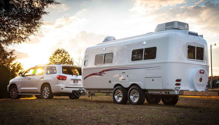"""Oliver Travel Trailers manufacturers high quality, durable, dual-core fiberglass travel trailers available in 18' 5"""" and 23' 6"""" lengths."""