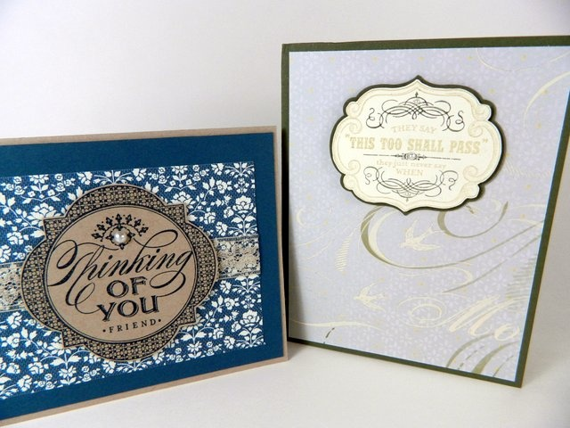 sympathy card samples: Sympathy Cards, Card Samples, Stampin