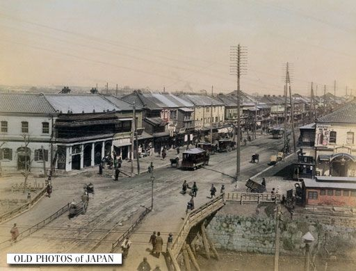 1880年代の銀座新橋