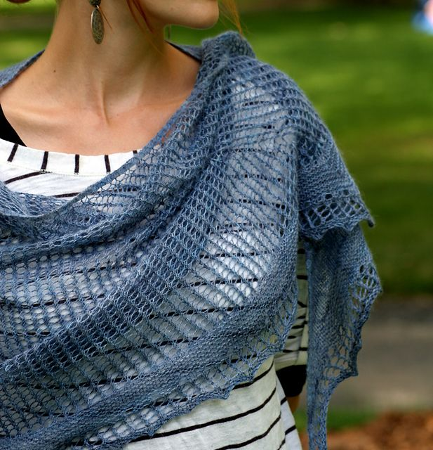 Ravelry Knitting Pattern Central : Zebulon pattern by Ariane Caron-Lacoste Lace, Shawl and ...
