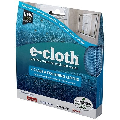 E-cloths from Waitrose & John Lewis just water no chemicals needed
