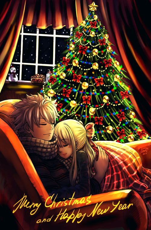 fairy tail nalu by leons-7 | Tumblr on We Heart It
