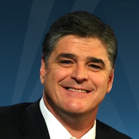 Sean Hannity... His show airs nightly M-F at 9cst on Fox News channel
