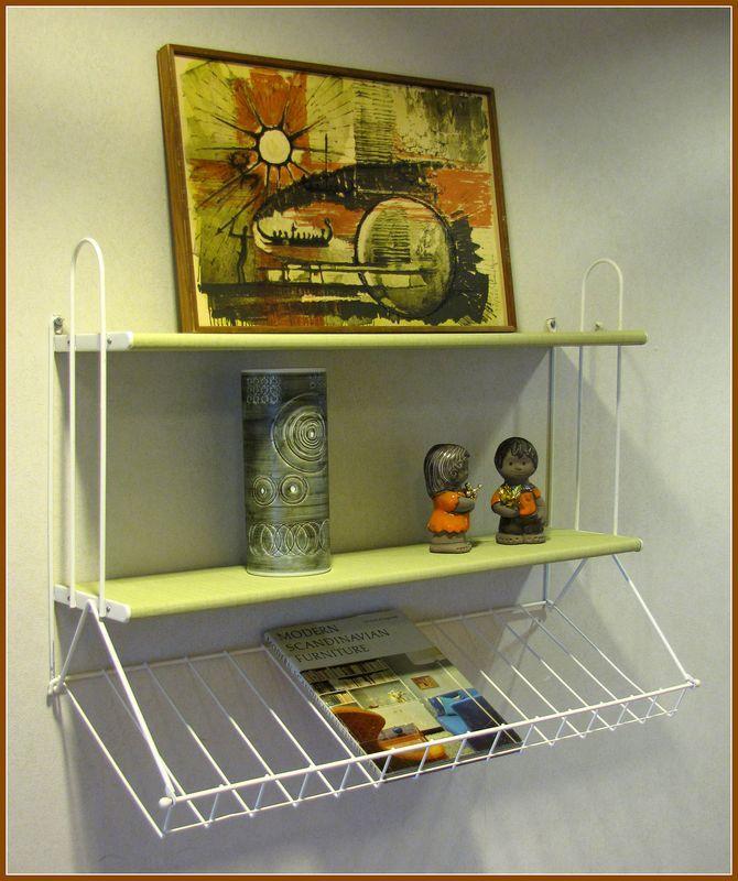 "Mid century modern ""STRING"" bookshelf."