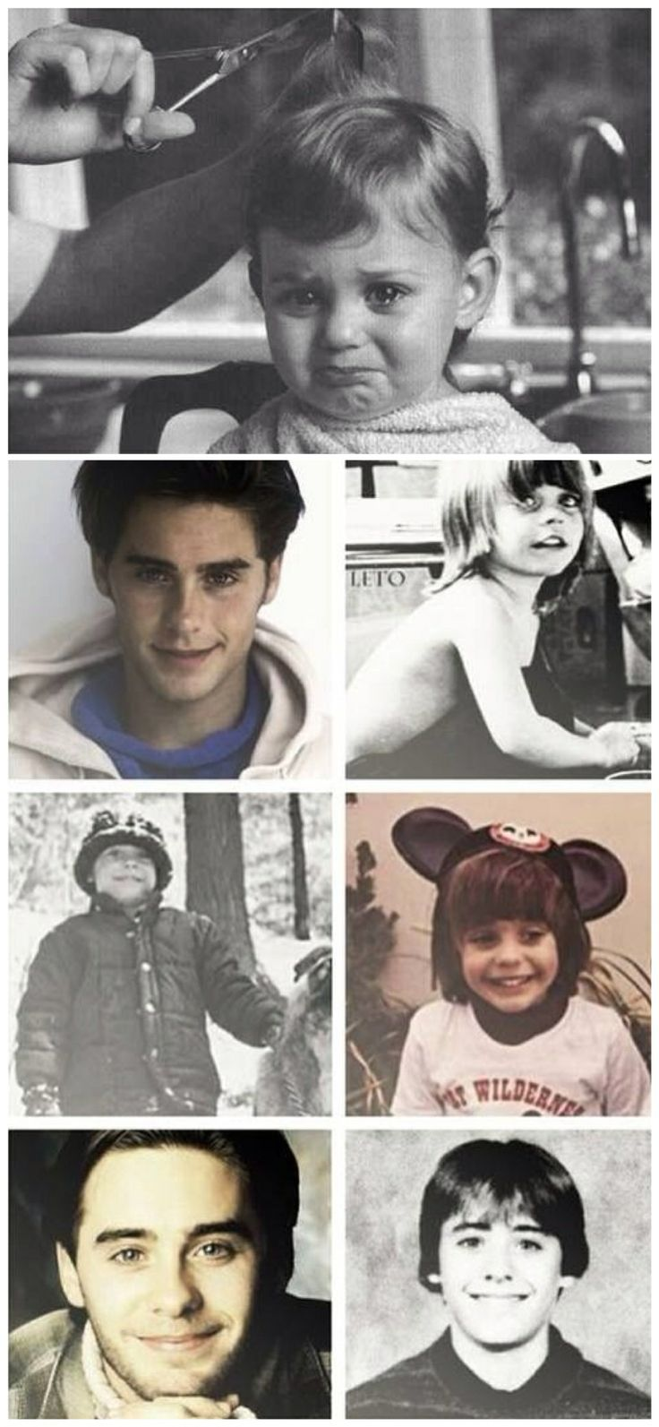 Holy fucking shit, this just melts my heart. What a treasure! Jeez, Jared Leto was always so godamn CUTE!  ♥♥