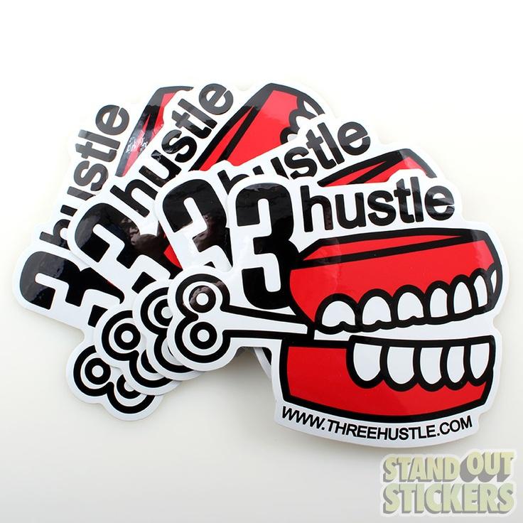 Die cut vinyl stickers standout stickers