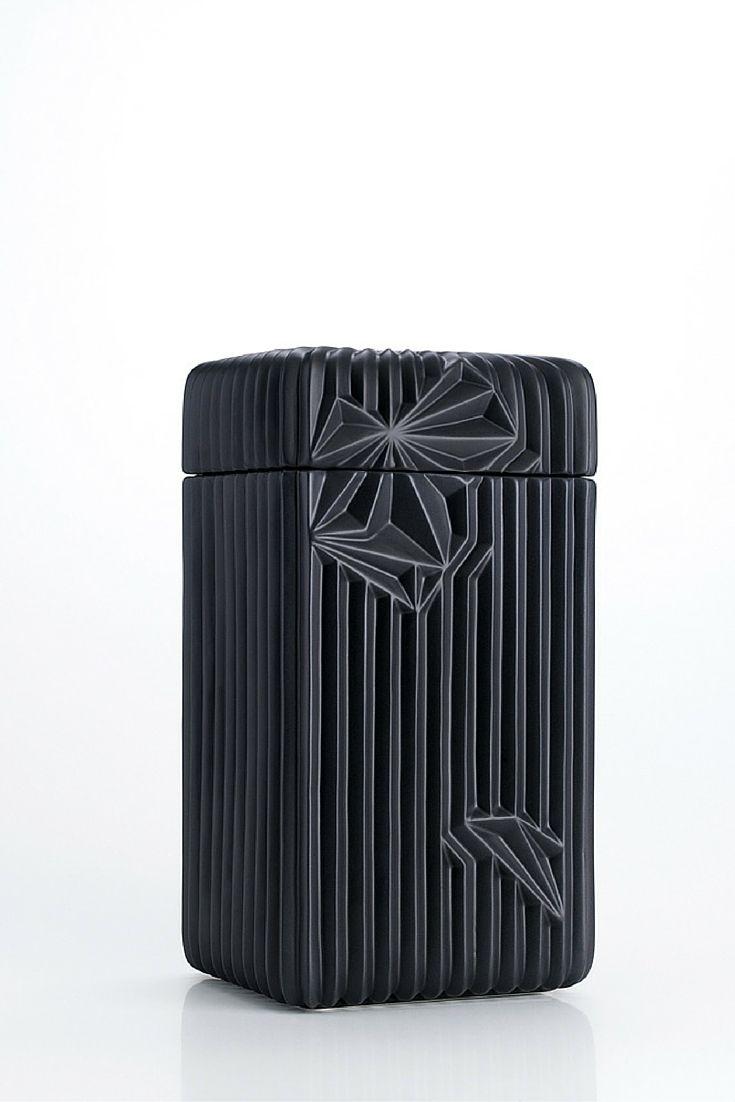 Spectrum Collection - Box, Black Matte | www.homelivingceramics.com