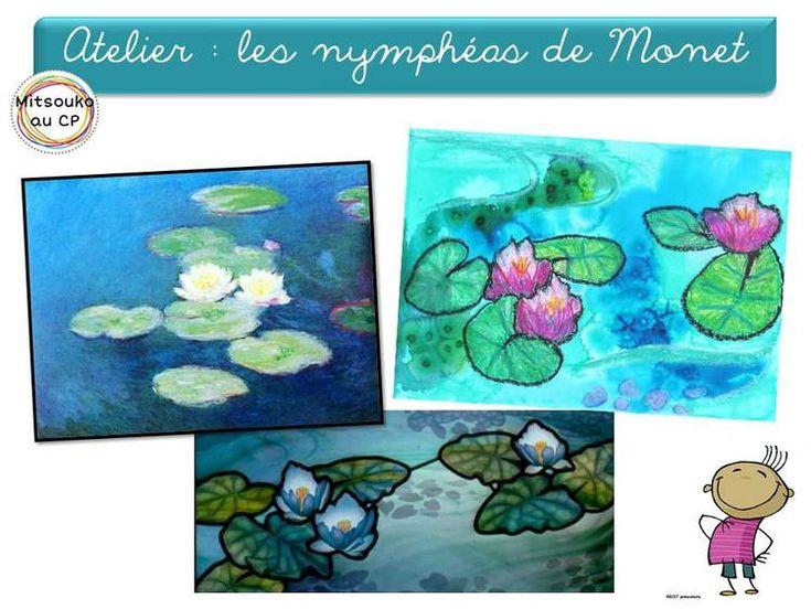 L'art dans la mare : les nymphéas de Claude Monet