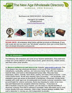 The New Age Wholesale Directory