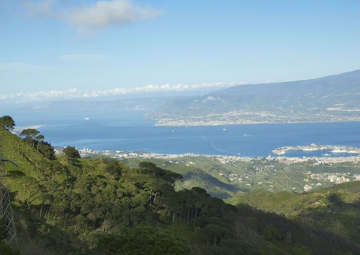 Lo Stretto di Messina - The Strait of Messina