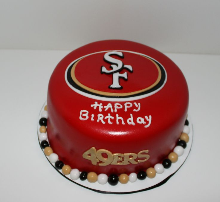 Birthday Cake Design San Francisco : San Francisco 49ers cake Cakes by Christina Pinterest